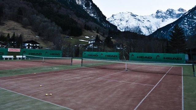 A good all-round game: Tennis hotel in Austria