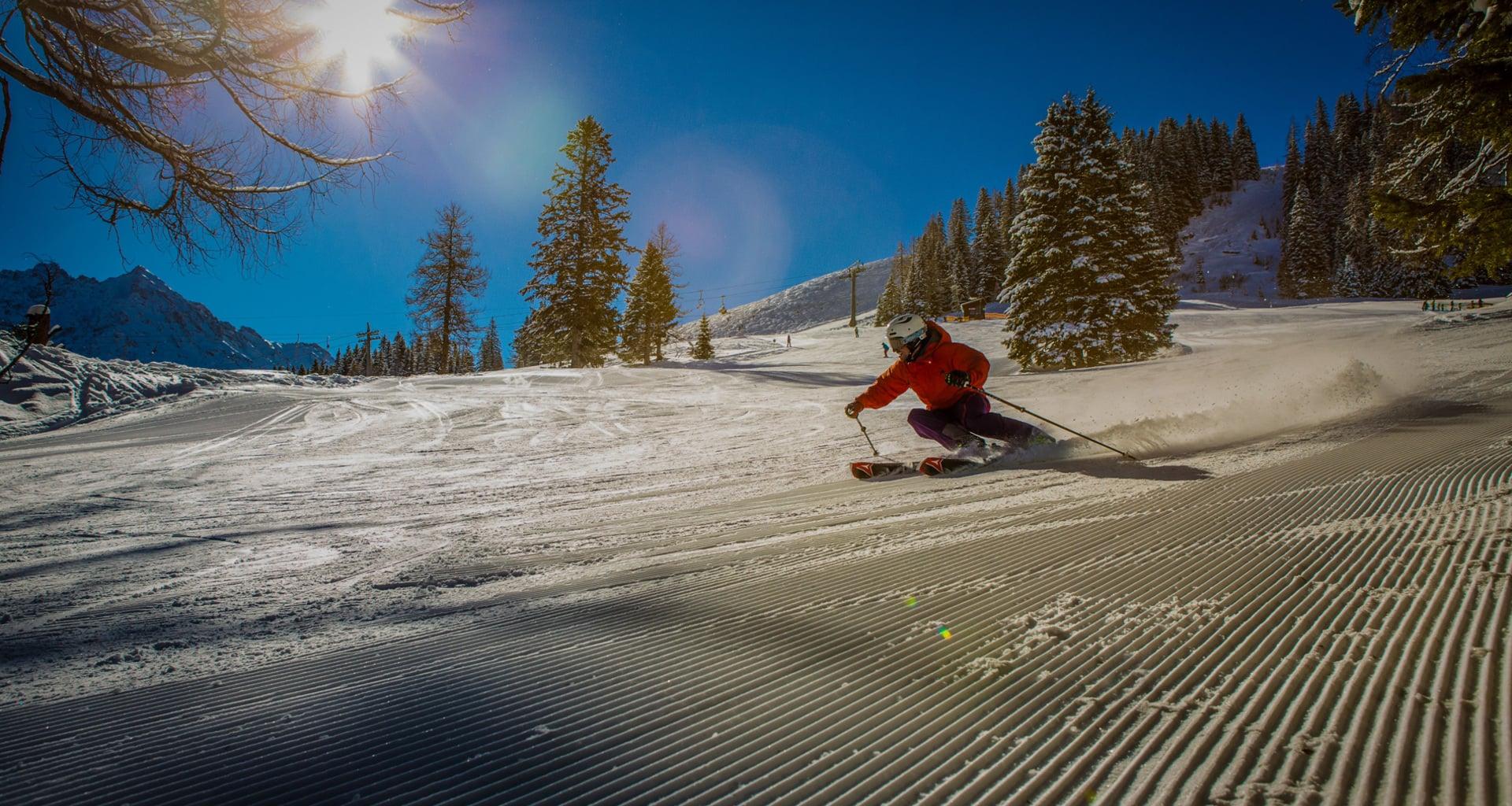 Skifahren im brandnertal hotel walliserhof in brand for Designhotel skifahren