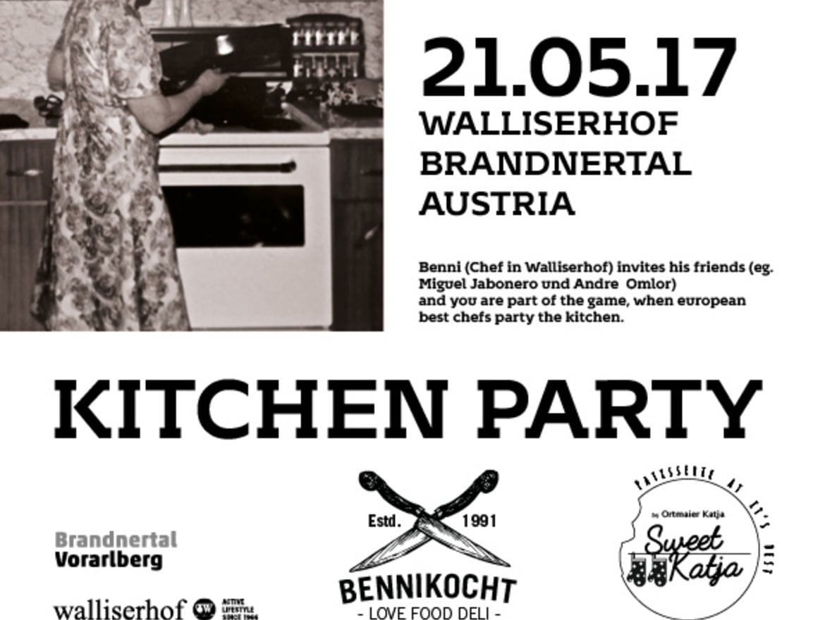 Walliserhof Kitchen Party