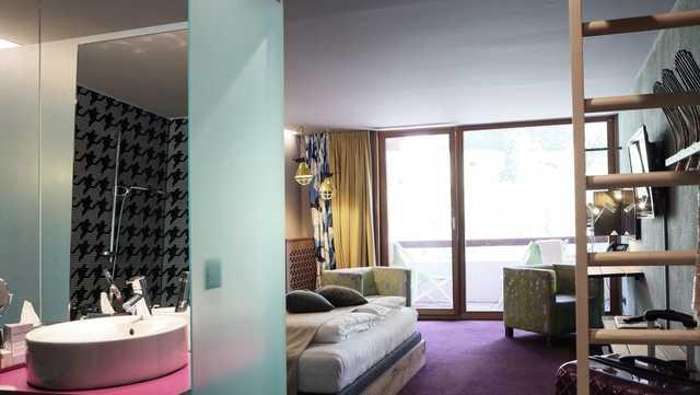 4 design hotel walliserhof im brandnertal vorarlberg. Black Bedroom Furniture Sets. Home Design Ideas
